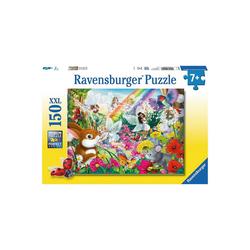 Ravensburger Puzzle Puzzle, 150 Teile XXL, 49x36 cm, Schöner Feenwald, Puzzleteile