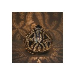 Casa Moro Nachttischlampe Orientalische Stehlampe Qahira D22 Silber