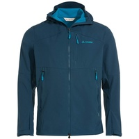Vaude Outdoorjacke Men's Roccia Softshell Jacket II Grüner Knopf blau