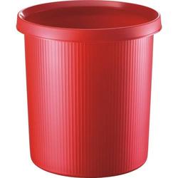 Objekt-Papierkorb 13l rot