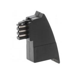Helos Telefonadapter TAE-F M lose US-Belegung Kontakte TAE-RJ12: 1-4 2-5 (014036)