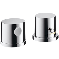 Axor Uno 2-Loch Wannenrandarmatur 38480000 Unterputz Thermostat, chrom