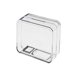 HMF Spardose Spardose 47800, Acryl Spendenbox, 9 x 9 x 5 cm