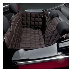Doctor Bark 2-Sitzer 2-Türer Cabrio Autodecke, S: Sitzbankbreite 110 cm, Sitzhöhe 50 cm, Sitztiefe 50 cm, braun