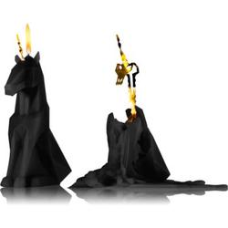 54 Celsius PyroPet EINAR (Unicorn) kerze Black I. 20.3 cm