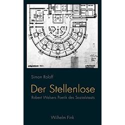 Der Stellenlose. Simon Roloff  - Buch