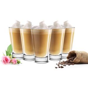 Sendez 6 Latte Macchiato Gläser 310ml Kaffeegläser Teegläser Cocktailgläser Saftgläser Trinkgläser