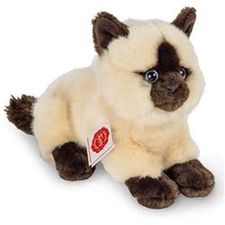 Teddy Hermann 91830 - Siamkatze liegend, Katzen, Plüschtier, Stofftier, 20 cm