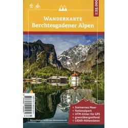 Berchtesgadener Alpen 1 : 25 000