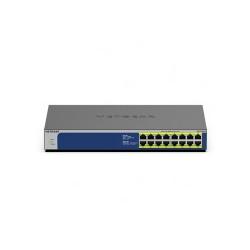 Netgear 16PT GIGE UNMNGED SWTCH W/PoE+ Hub 1 Gbps 16-Port Power over Ethernet Rack-Modul (GS516PP-100EUS)