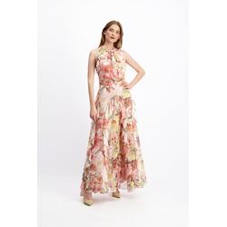 Lavard Luftiges Kleid mit Blumenmotiv 85408