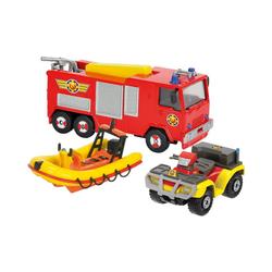 Dickie Toys Spielzeug-Auto Feuerwehrmann Sam Feuerwehrautos 3er Pack