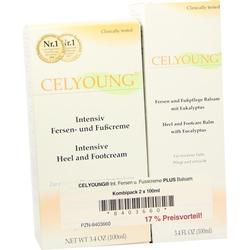 Celyoung Intensiv Fersen- und Fußcreme plus Balsam