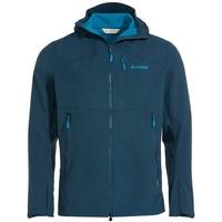 Vaude Outdoorjacke Men's Roccia Softshell Jacket II Grüner Knopf blau S