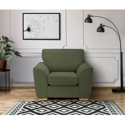 DELAVITA Sessel Savoy, gemütlicher Sessel,k in 2 Bezugsqualitäten grün