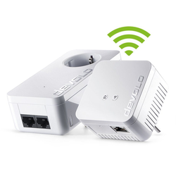 DEVOLO (500Mbit, 2er Kit, Powerline + WLAN, 1xLAN) WLAN-Router