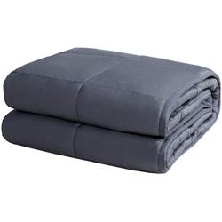 Gewichtsdecke, Beschwerte Decke Gewichtete Decke, COSTWAY, 122 x 185cm / 5,5kg 122 cm x 185 cm