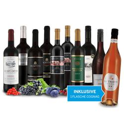 Vorteilspaket Die Welt des Rotweins inkl. 1 Flasche Cognac