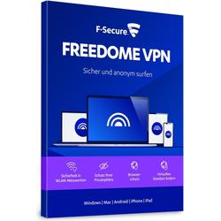 F-Secure Freedome VPN 2021, 1 Jahr, Multi Device/ Mobile