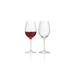 LEONARDO Rotweinglas TAVOLA Rotweinglas 2er Set (2-tlg), Glas