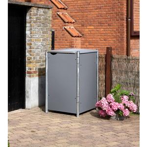 Mülltonnenbox für 1x 240 l,grau,