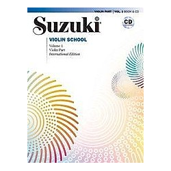 Suzuki Violin School  Volume 1. Shinichi Suzuki  - Buch