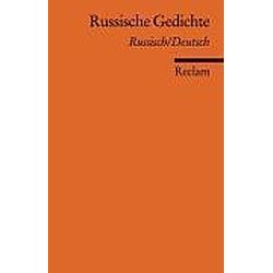 Russische Gedichte  Russisch/Deutsch - Buch