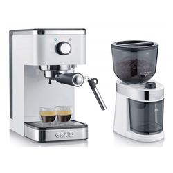 Graef Espressomaschine ES 401 Salita & CM 201 - Espressomaschine & Kaffeemühle
