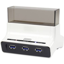 Renkforce rf-docking-04 USB 3.0 SATA III 1 Port Festplatten-Dockingstation mit USB Hub