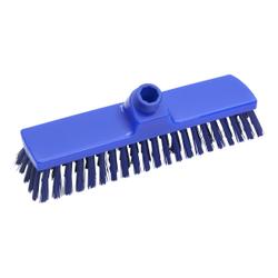 Haug Besen, 330 x 70 mm, mittel, Hygienebesen mit Polyesterbesatz, Farbe: blau