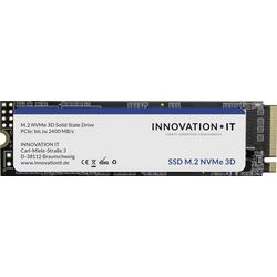 Innovation IT 00-512111 Interne M.2 PCIe NVMe SSD 2280 512GB Black RETAIL Retail M.2 NVMe PCIe 3.0 x