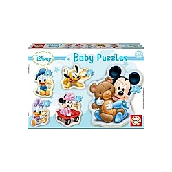 Educa Puzzle.  Baby Puzzles Mickey 3/3x4/5 Teile