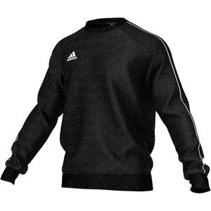 adidas Herren CORE18 SW TOP Sweatshirt, Black/White, S