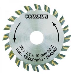 PROXXON 28017 Kreisägeblatt Sägeblatt hartmetall bestückt 20 Zähne Ø50mm