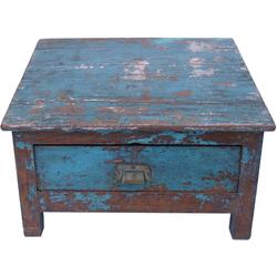 Guru-Shop Schreibtisch Boden Schreibpult, Truhe im Shabby Chic Look..