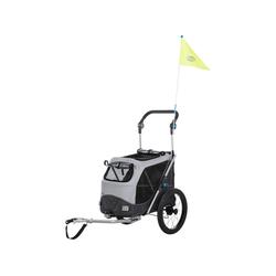 TRIXIE Fahrradhundeanhänger Anhänger faltbar 58 cm x 93 cm x 74 cm