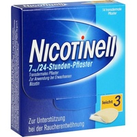 Nicotinell 24-Stunden 7 mg Pflaster 14 St.