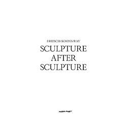 Sculpture After Sculpture: Fritsch  Koons  Ray. Moderna Museet  - Buch
