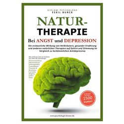 NATURTHERAPIE BEI ANGST UND DEPRESSION: eBook von Eskil Burck