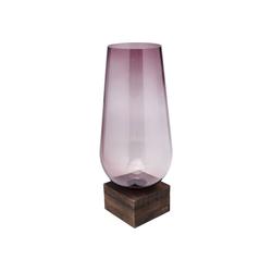 KARE Dekovase Vase Podium Lila 58cm