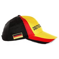 WM Cap Mütze Deutschland Cappy Fußballfan Weltmeister Fußball