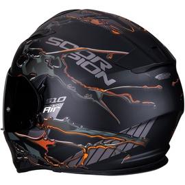 Scorpion Exo-510 Air Likid Matt-Schwarz/Orange