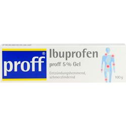 IBUPROFEN proff 5% Gel 100 g