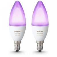 Philips Hue White and Color Ambiance 6,5W E14 2er Pack (69524100)