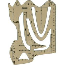 KOH-I-NOOR Zeichenschablone transparent