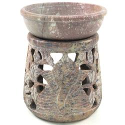 Guru-Shop Duftlampe Indische Duftlampe, ätherisches Öl Diffusor,.. 9 cm x 12 cm x 9 cm