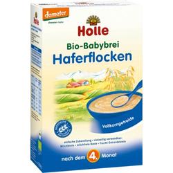 HOLLE Bio Babybrei Haferflocken