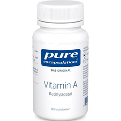 PURE ENCAPSULATIONS Vitamin A (Retinylacetat)