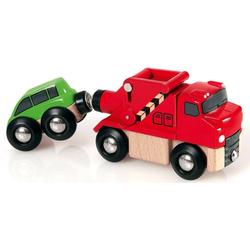 BRIO® Spielzeug-Eisenbahn BRIO® WORLD Abschleppwagen mit Auto