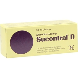 SUCONTRAL D Diabetiker Lösung 50 ml